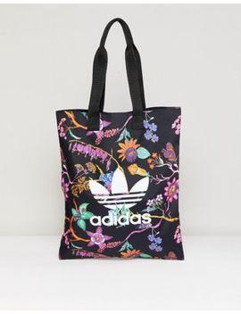 adidas-originals-floral-print-reversible-tote-bag by adidas