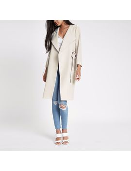 cream-d-ring-duster-coat by river-island