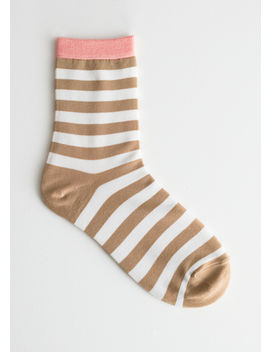 striped-ankle-socks by &-other-stories