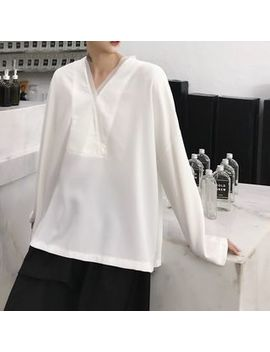 v-neck-long-sleeve-t-shirt by ancho