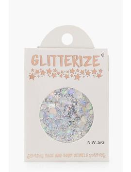 holographic-silver-face-&-body-glitter by boohoo