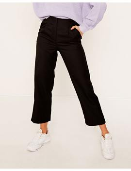 High Waisted Crop Pant by Glassons