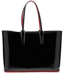 cabata-patent-leather-tote by christian-louboutin