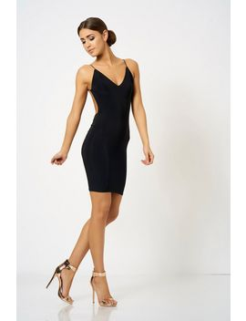 **knot-back-mini-dress-by-club-l-london by topshop