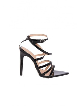 ines-black-strappy-patent-pointed-heels by missy-empire