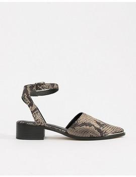zapatos-planos-de-punta-mamba-de-asos-design by asos