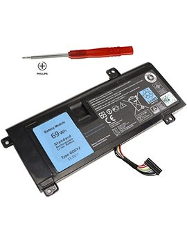 shareway-6-cell-replacemnet-laptop-battery-for-dell-alienware-14-a14-m14x-r3-r4-14d-1528-alw14d-5728-alw14d-5528-g05yj-0g05yj-[111v-69wh]---12-months-warranty! by shareway