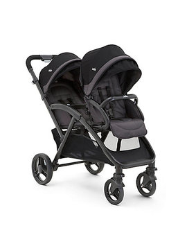 joie-evalite-duo-twin-stroller---two-tone-black by mothercare