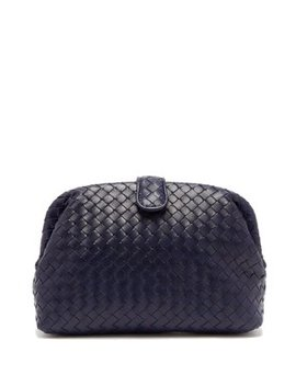 the-lauren-1980-leather-clutch by bottega-veneta