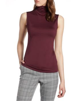 mock-neck-shell-top by halogen®