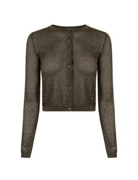 metallic-cropped-cardigan by m-missoni
