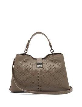 napoli-intrecciato-small-leather-bag by bottega-veneta