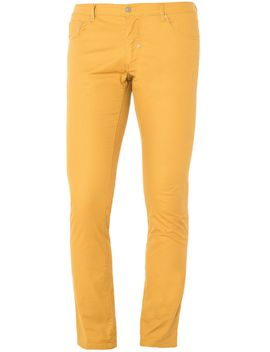 Skinny Fit Five Pocket Trousers by Antony Morato