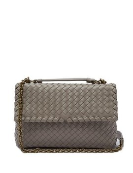 olimpia-intrecciato-woven-cross-body-bag by bottega-veneta