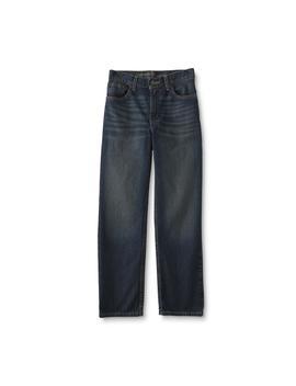 roebuck-&-co-boys-straight-leg-jeans by sears