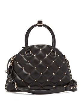candystud-quilted-leather-dome-bag by valentino