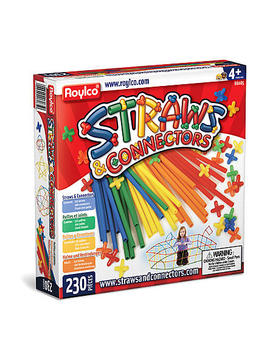 roylco-straws-&-connectors-230-piecesroylco-straws-&-connectors-230-pieces by sears