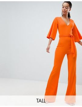 missguided-tall-belted-jumpsuit by missguided-tall