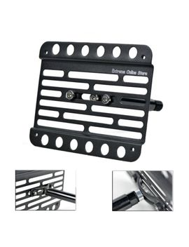 for-2013-2016-dodge-dart-front-bumper-tow-hook-license-plate-relocator-mount by ebay-seller