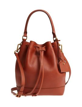 lafayette-leather-bucket-bag by madewell