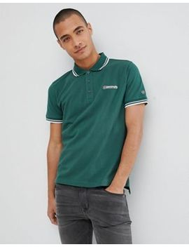lambretta-tipped-polo-shirt by lambretta