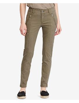 twill-skinny-cargo-pants by lauren-ralph-lauren
