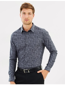 jacquard-ls-shirt by burton-menswear