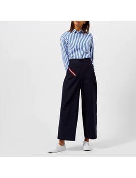 polo-ralph-lauren-womens-ramsey-stripe-shirt---blue_white by polo-ralph-lauren