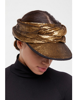 stardust-sequin-wrap-visor by free-people