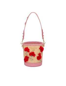 straw-and-leather-bucket-bag-with-flowers by prada