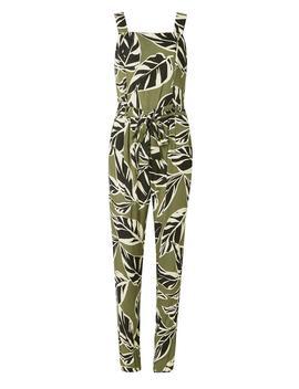 Khaki Safari Print Jumpsuit by Dorothy Perkins