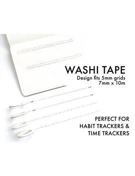 tracker-washi-tape---7mm-rolls by etsy