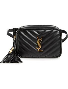 loulou-matelassé-leather-belt-bag by saint-laurent