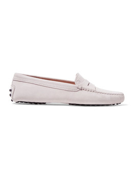 gommino-loafers-aus-veloursleder by tods