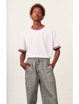 ortley-mesh-oversized-t-shirt by pacsun