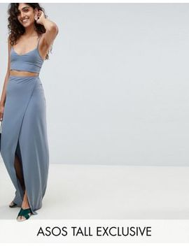 asos-design-tall-maxi-dress-with-cut-outs by asos-design