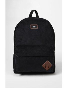 old-skool-ii-corduroy-black-backpack by vans