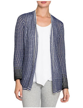 striped-space-cardigan by nic+zoe