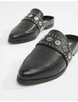 sol-sana-leather-stud-detail-mule-in-black by -sol-sana