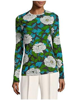 floral-fitted-top by diane-von-furstenberg