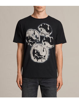 Good Vibes Crew T Shirt by Allsaints