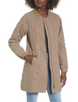 stone-longline-bomber-jacket by lira-clothing