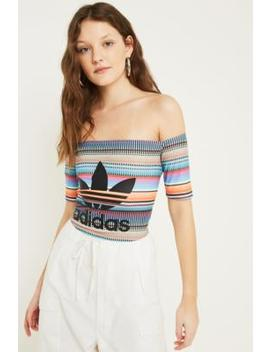 adidas-originals-striped-bardot-top by adidas-originals