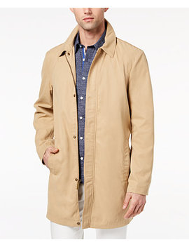 mens-slim-fit-tan-trench-coat,-created-for-macys by ryan-seacrest-distinction