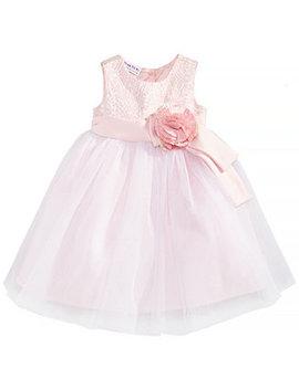 baby-girls-brocade-&-mesh-dress by blueberi-boulevard