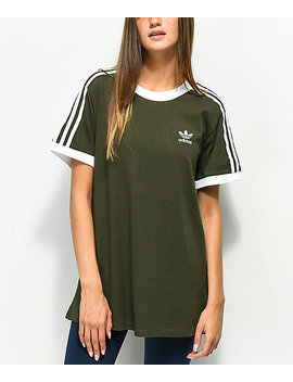 adidas-3-stripe-night-cargo-t-shirt by adidas