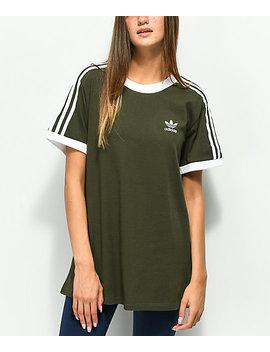 adidas-3-stripe-night-cargo-t-shirt by adidas