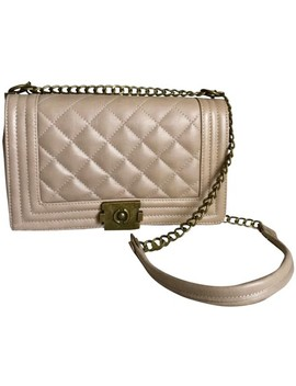 quilted-chain-taupe-leather-cross-body-bag by tradesy