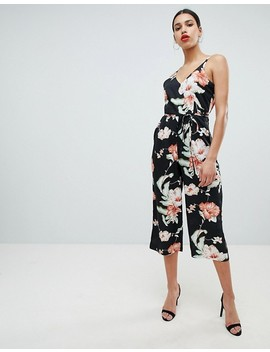ax-paris-tropical-print-culotte-jumpsuit by jumpsuit