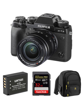 x-t2-mirrorless-digital-camera-with-18-55mm-lens-and-accessories-kit by fujifilm
